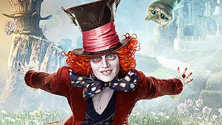 Alice Through The Looking Glass Free Download Desktop Theme