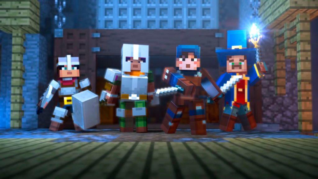 Minecraft Dungeon Hero Wallpaper